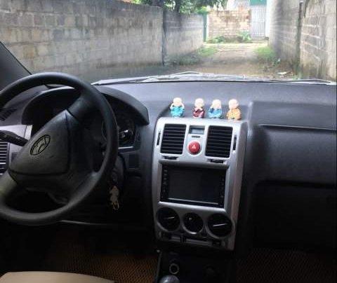 Bán Hyundai Getz đời 2010, màu bạc, xe nhập số sàn4