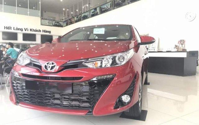 Bán Toyota Yaris sản xuất 2019, màu đỏ, nhập khẩu  1