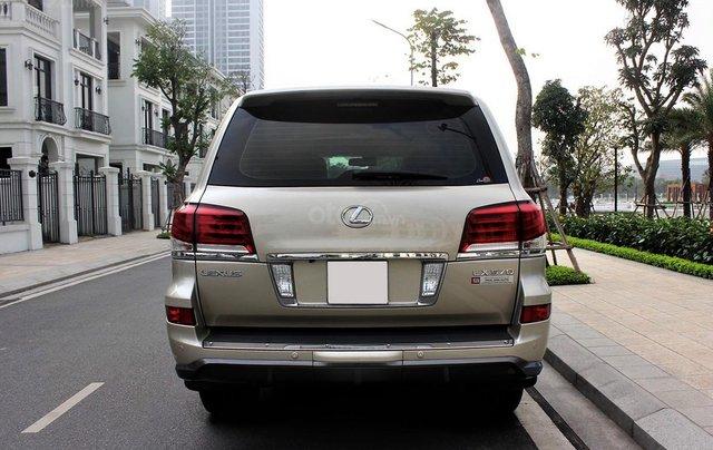 Bán Lexus LX 570 sx 2015 biển VIP, màu vàng cát, nội thất kem cực hiếm, giá tốt1