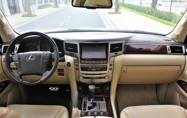 Bán Lexus LX 570 sx 2015 biển VIP, màu vàng cát, nội thất kem cực hiếm, giá tốt2