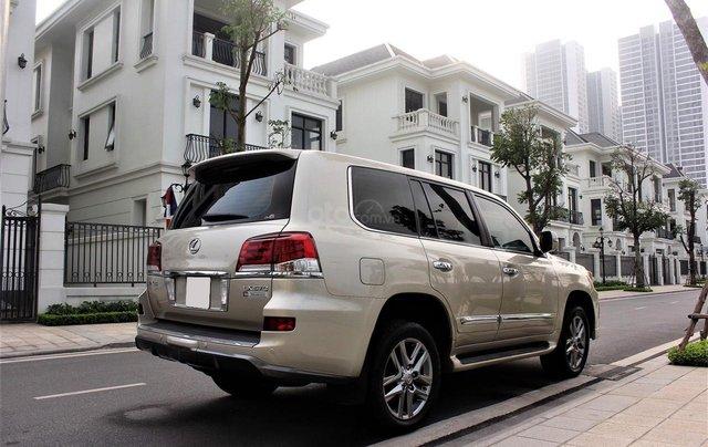 Bán Lexus LX 570 sx 2015 biển VIP, màu vàng cát, nội thất kem cực hiếm, giá tốt5