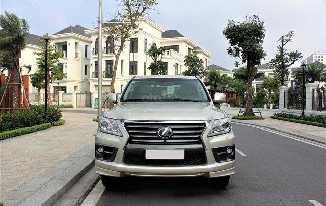Bán Lexus LX 570 sx 2015 biển VIP, màu vàng cát, nội thất kem cực hiếm, giá tốt3