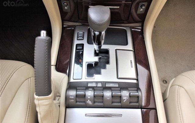 Bán Lexus LX 570 sx 2015 biển VIP, màu vàng cát, nội thất kem cực hiếm, giá tốt12