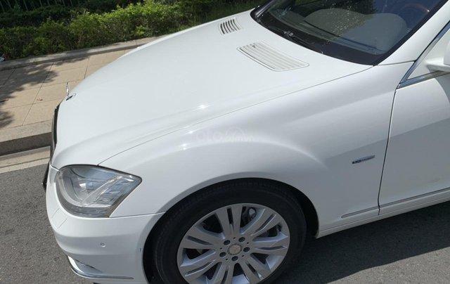 Bán xe Mercedes S400 model 2012 màu trắng, xăng điện5