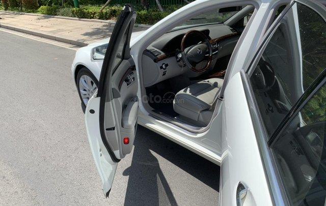 Bán xe Mercedes S400 model 2012 màu trắng, xăng điện6