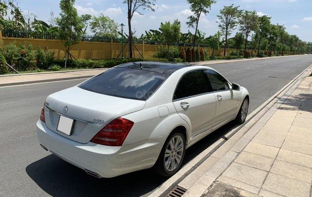 Bán xe Mercedes S400 model 2012 màu trắng, xăng điện18