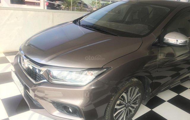 Bán Honda City Top 1.5 CVT năm sản xuất 2017, màu nâu 0