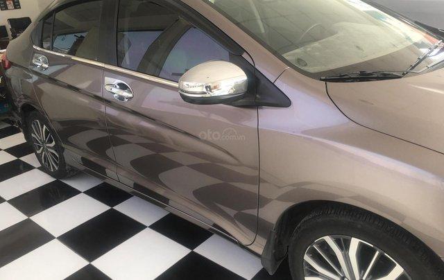Bán Honda City Top 1.5 CVT năm sản xuất 2017, màu nâu 1