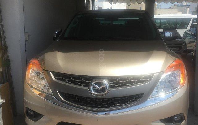 Bán Mazda BT 50 3.2 2 cầu năm 2014, màu nâu, nhập khẩu, 520tr1