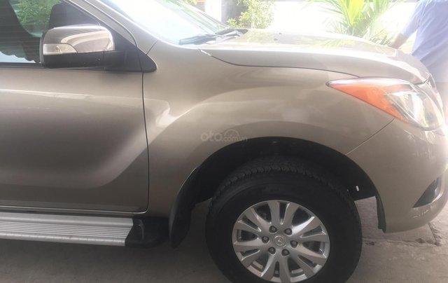 Bán Mazda BT 50 3.2 2 cầu năm 2014, màu nâu, nhập khẩu, 520tr4