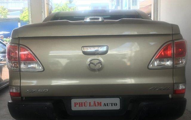 Bán Mazda BT 50 3.2 2 cầu năm 2014, màu nâu, nhập khẩu, 520tr5