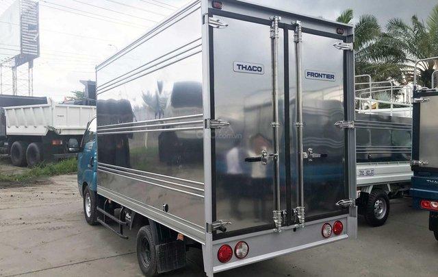Cần bán xe Thaco Kia Frontier K200 thùng kín năm sản xuất 2019, màu xanh lam, giá 335tr1