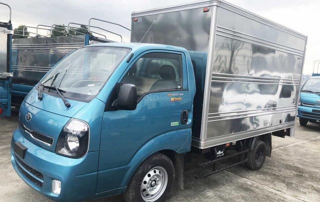 Cần bán xe Thaco Kia Frontier K200 thùng kín năm sản xuất 2019, màu xanh lam, giá 335tr0