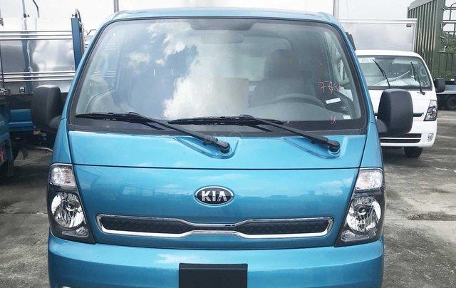 Cần bán xe Thaco Kia Frontier K200 thùng kín năm sản xuất 2019, màu xanh lam, giá 335tr2