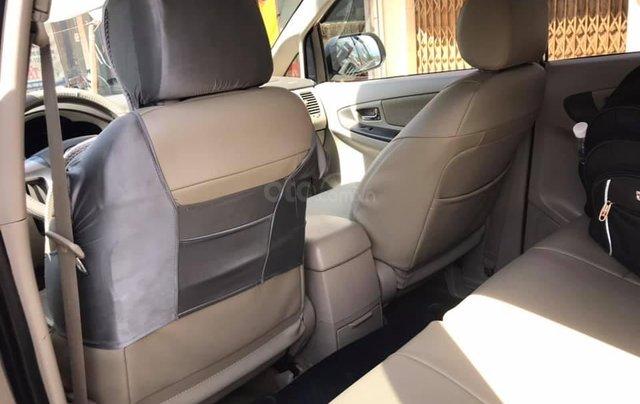 Gia đình cần bán xe Innova 2015, số sàn, màu vàng cát, zin cọp7