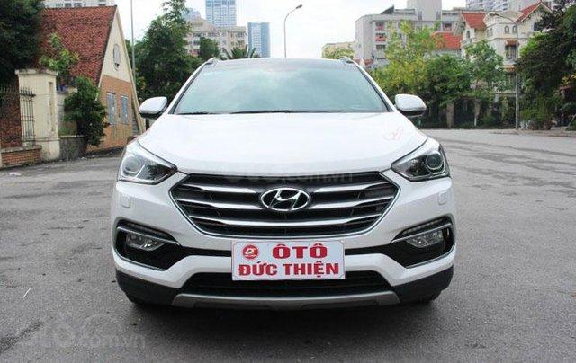 Cần bán Hyundai Santa Fe 2.2L sản xuất 20161