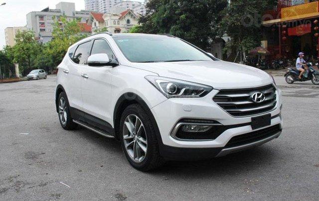 Cần bán Hyundai Santa Fe 2.2L sản xuất 20162