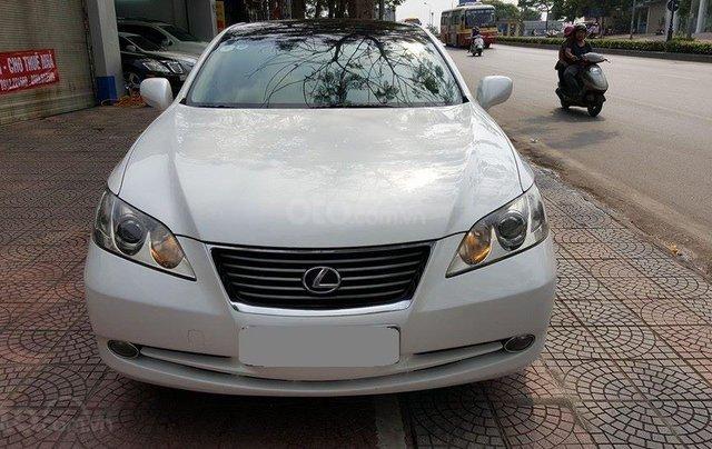 Bán Lexus ES350 màu trắng 2008 nhập Nhật chính chủ1