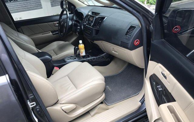 Bán Toyota Fortuner 2016 tự động, màu xám chì, xe gia đình chính chủ8
