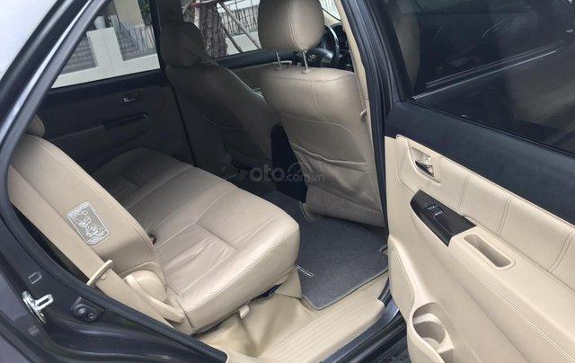 Bán Toyota Fortuner 2016 tự động, màu xám chì, xe gia đình chính chủ9