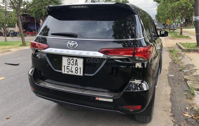 Bán Toyota Fortuner 2.8V 2 cầu, số tự động, máy dầu, nhập khẩu Indonesia T5/2019 màu đen VIP đi 8000km19