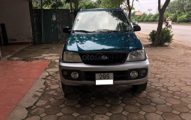 Bán Daihatsu Terios 1.3 4x4 MT năm sản xuất 2003, màu xanh, biển Hà Nội0