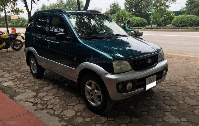 Bán Daihatsu Terios 1.3 4x4 MT năm sản xuất 2003, màu xanh, biển Hà Nội1