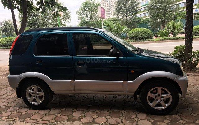 Bán Daihatsu Terios 1.3 4x4 MT năm sản xuất 2003, màu xanh, biển Hà Nội2