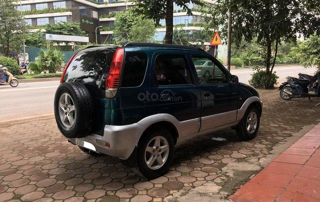 Bán Daihatsu Terios 1.3 4x4 MT năm sản xuất 2003, màu xanh, biển Hà Nội3