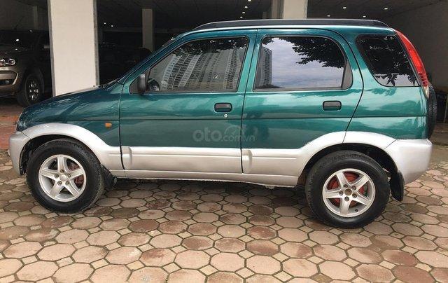 Bán Daihatsu Terios 1.3 4x4 MT năm sản xuất 2003, màu xanh, biển Hà Nội5