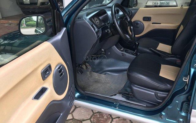 Bán Daihatsu Terios 1.3 4x4 MT năm sản xuất 2003, màu xanh, biển Hà Nội6
