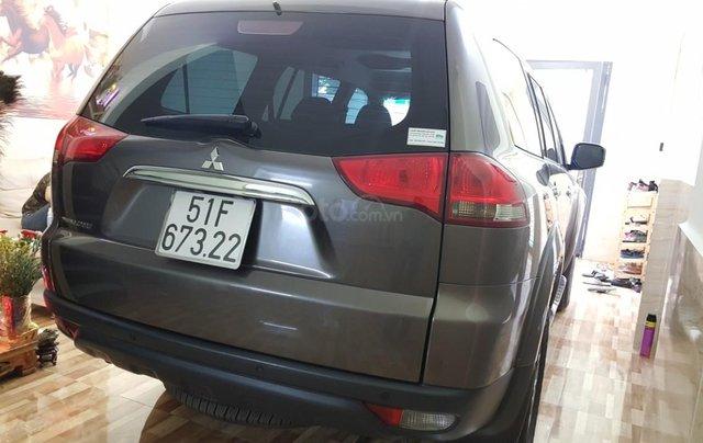 Bán Mitsubishi Pajero Sport 2.5MT số sàn, máy dầu, 7 chỗ, sản xuất 2016, màu nâu titan, biển Sài Gòn, 1 chủ đi 22000km9