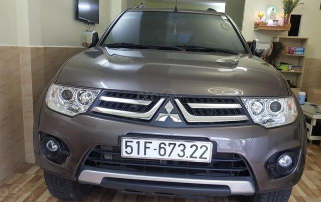 Bán Mitsubishi Pajero Sport 2.5MT số sàn, máy dầu, 7 chỗ, sản xuất 2016, màu nâu titan, biển Sài Gòn, 1 chủ đi 22000km10