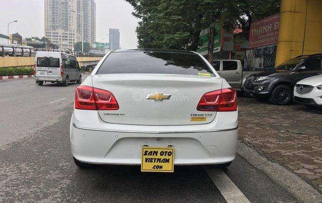 Bán xe Chevrolet Cruze 1.8 LTZ sản xuất 2016, màu trắng, giá chỉ 505 triệu1