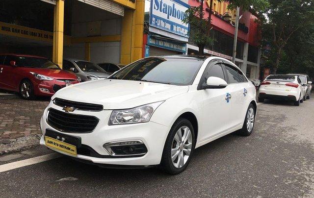 Bán xe Chevrolet Cruze 1.8 LTZ sản xuất 2016, màu trắng, giá chỉ 505 triệu7