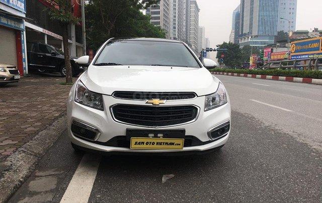 Bán xe Chevrolet Cruze 1.8 LTZ sản xuất 2016, màu trắng, giá chỉ 505 triệu0