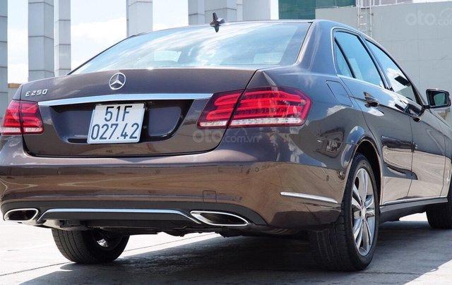 Bán Mercedes Benz E250 2014 xe đẹp màu nâu, đi 27.000km, cam kết chất lượng bao kiểm tra hãng6