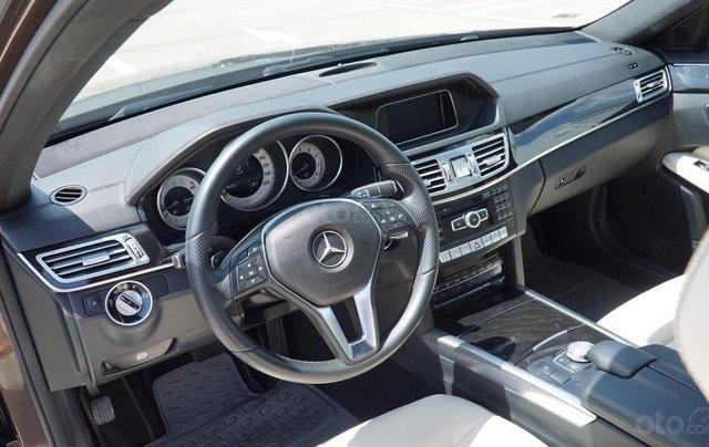 Bán Mercedes Benz E250 2014 xe đẹp màu nâu, đi 27.000km, cam kết chất lượng bao kiểm tra hãng4