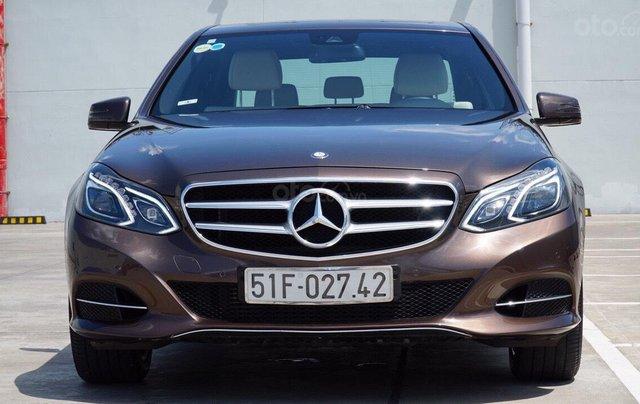 Bán Mercedes Benz E250 2014 xe đẹp màu nâu, đi 27.000km, cam kết chất lượng bao kiểm tra hãng0