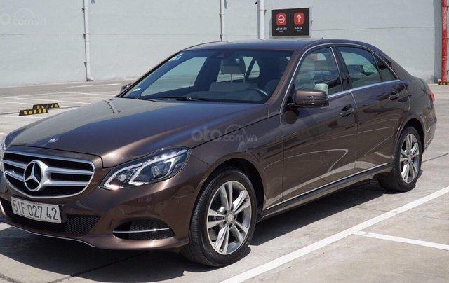 Bán Mercedes Benz E250 2014 xe đẹp màu nâu, đi 27.000km, cam kết chất lượng bao kiểm tra hãng5