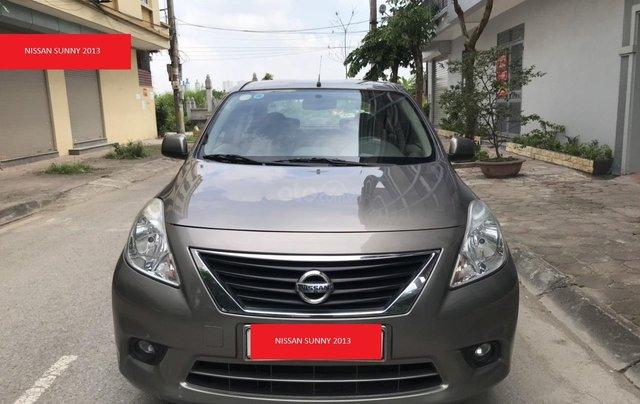 Bán Nissan Sunny đời 2013, màu xám (ghi)4