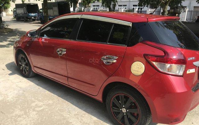 Cần bán xe Toyota Yaris E sản xuất năm 2016, màu đỏ, nhập khẩu nguyên chiếc1