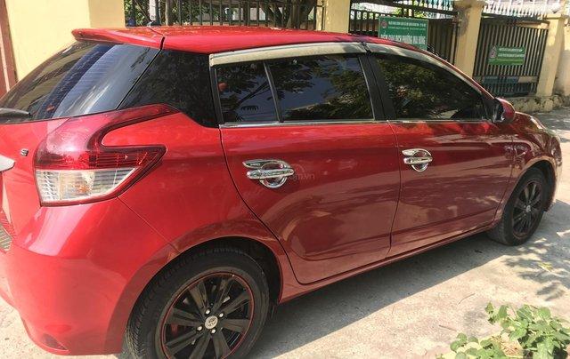 Cần bán xe Toyota Yaris E sản xuất năm 2016, màu đỏ, nhập khẩu nguyên chiếc4