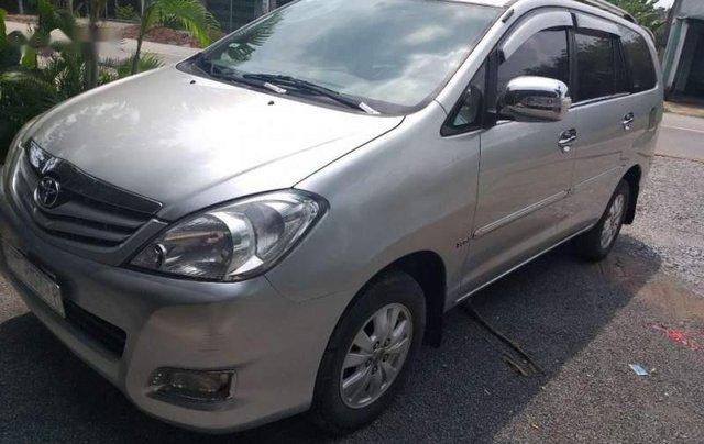 Chính chủ bán ô tô Toyota Innova G SX 2008, màu bạc1