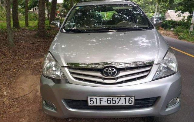 Chính chủ bán xe Toyota Innova G năm 2008, màu bạc0