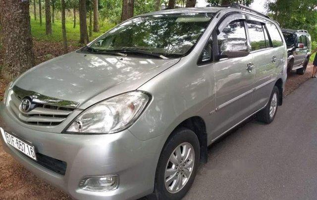 Chính chủ bán xe Toyota Innova G năm 2008, màu bạc5