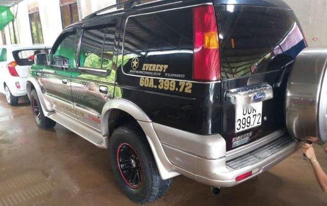 Bán Ford Everest năm sản xuất 2005, màu đen chính chủ, giá tốt0