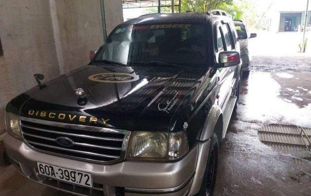 Bán Ford Everest năm sản xuất 2005, màu đen chính chủ, giá tốt1