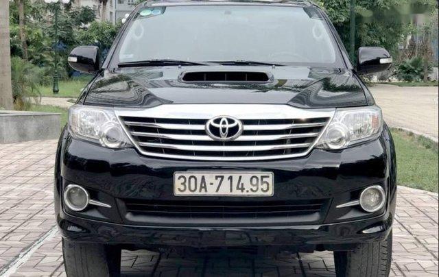 Bán Toyota Fortuner năm 2015, màu đen, giá chỉ 820 triệu5