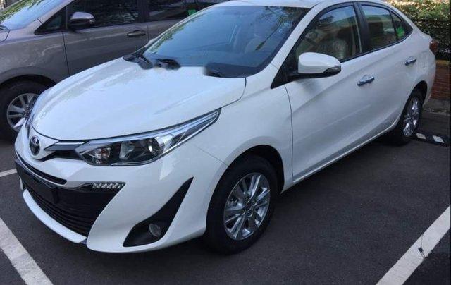 Bán Toyota Vios G 1.5CVT 2019, màu trắng, giá 571tr0